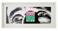 you're right (and you know it and so should everyone else) by barbara kruger