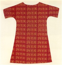 open this end (paper dress) by andy warhol