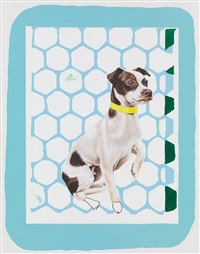 dog with brown spots by meg cranston