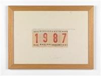 calendario by alighiero boetti