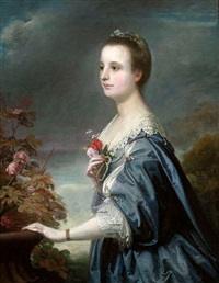 portrait of mary townshend by joshua reynolds