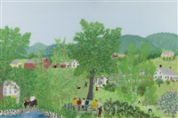 the gate by grandma moses
