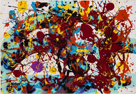 sam francis the last works by sam francis