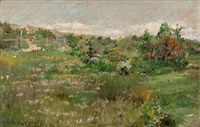 shinnecock landscape by william merritt chase