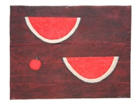 sandias con manzana (watermelon with apple) by rufino tamayo