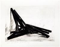 effondrement: angles by bernar venet