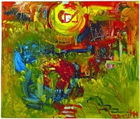 sunburst by hans hofmann