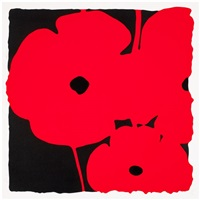big poppies-red by donald sultan
