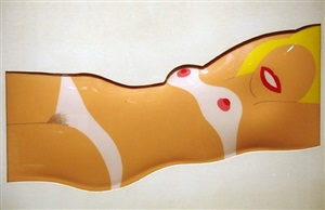 cut - out nude by tom wesselmann