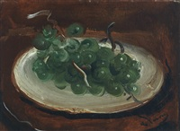 nature morte aux raisins by andré derain
