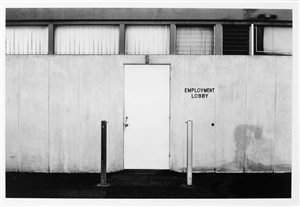 "north wall, master specialties, 1640 monrovia, costa mesa (""employment lobby"") by lewis baltz"
