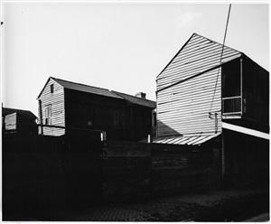 buildings enshadowed, new orleans by wright morris
