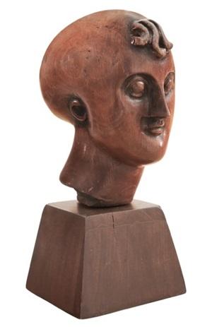 classical head by elie nadelman