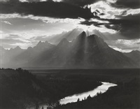 grand tetons, wyoming by minor white