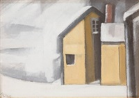 blizzard by oscar florianus bluemner