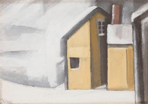 blizzard by oscar florianus bluemner