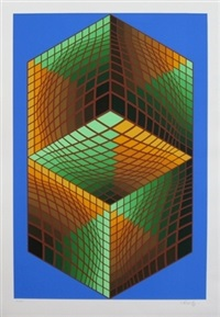 museum #1 by victor vasarely