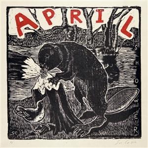 april by sue coe