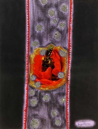 pistils and stamens by yayoi kusama