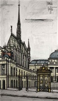 la sainte-chapelle by bernard buffet