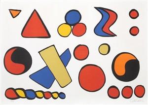 alphabet et saucisson by alexander calder