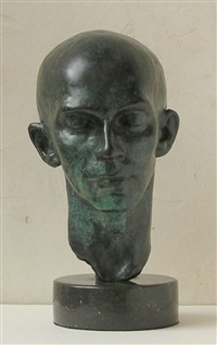head of dancer (harald kreutzberg) by richmond barthe