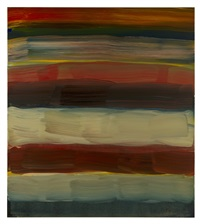 landline red sea by sean scully