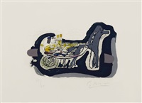 gélinotte (grouse) by georges braque