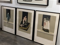 triptych 1986-1987: study for a portrait of john edwards (s. 6) by francis bacon