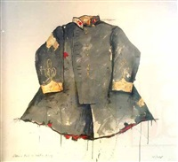 brand loyalty - officer's tunic - winter gray by william dunlap