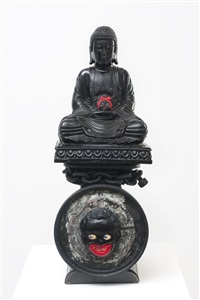 the weight of buddha (contemplating mother wit and street smarts) by betye saar