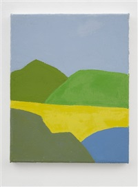 untitled by etel adnan