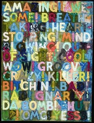 amazing by mel bochner