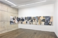 installation view, campoli presti, paris by amy sillman