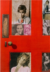 girlie door by peter blake