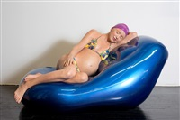 brooke with beach ball, life size by carole a. feuerman