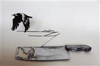 hawk, metal by li hongbo
