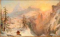 winter by jasper francis cropsey
