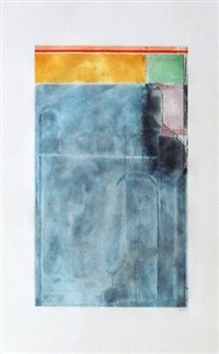 large light blue by richard diebenkorn