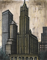 woolworth building by bernard buffet