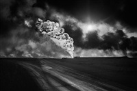oil field, kuwait by sebastião salgado