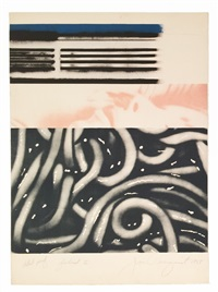 forehead ii by james rosenquist