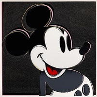 mickey mouse (fs ii.265), by andy warhol