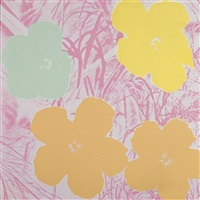 flowers (fs ii.70) by andy warhol