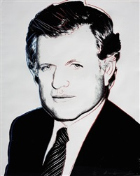 edward kennedy (fs ii.240) by andy warhol