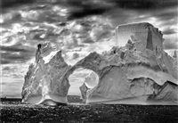 iceberg between paulet island and the shetland islands, antarctica, 2005 by sebastião salgado