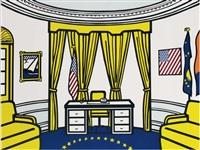 the oval office by roy lichtenstein