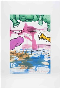 three etchings (#3) by carroll dunham
