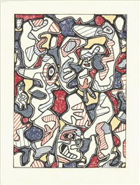 saturday afternoon (samedi tantot) by jean dubuffet
