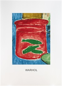 double vision: warhol red by john baldessari